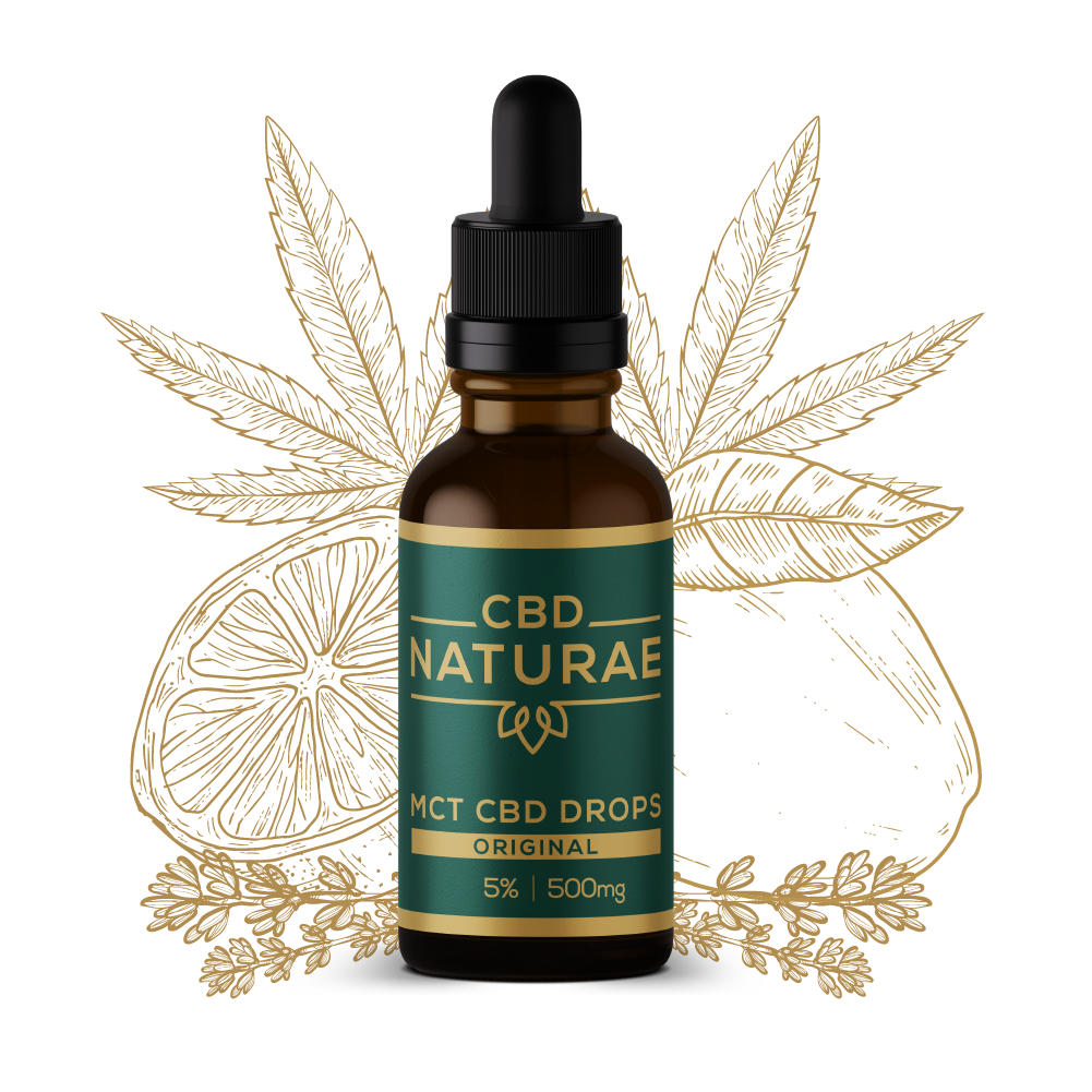 CBD HEMP OIL 5% ORIGINAL
